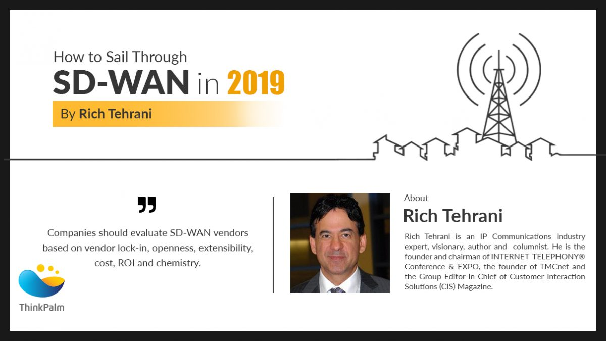 Rich Tehrani Interview on SD-WAN